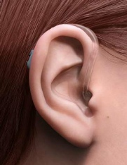For mild to profound hearing loss